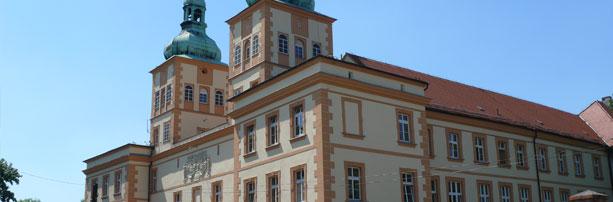 Odrestaurowany zamek w Prószkowie