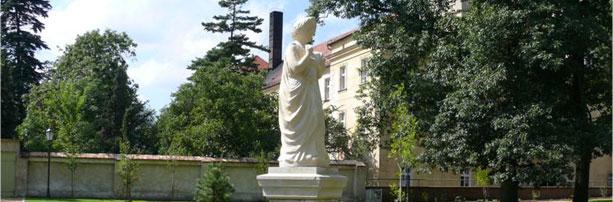 Rzeźba bogini Ceres w Parku Partnerstwa