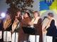 Czyżby nowy członek zespołu? Na zdjęciu Burmistrz Róza Malik z Przysieczankami podczas Oktoberfestu 13.10.2007