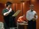 Burmistrz Róża Malik gratuluje orkiestrze