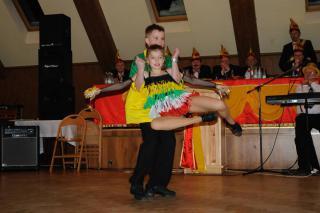 Ola i Paweł podczas występu na Rosenmontag