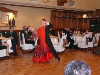 Występ pary tanecznej podczas gali Leopoldy 2009