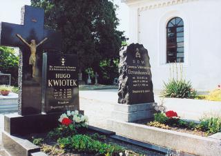 Grób ks. Hugona Kwiotek  foto: Krzysztof Duniec
