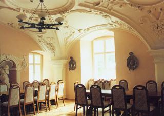 """""""Sala Rycerska"""" - jedno z najlepiej zachowanych i najcenniejszych wnętrz zamkowych.  foto: Krzysztof Duniec"""