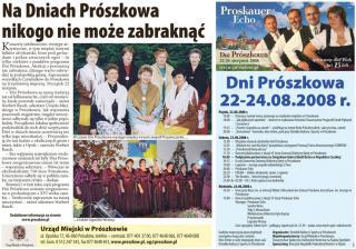 Serwis Opolski sierpień 2008