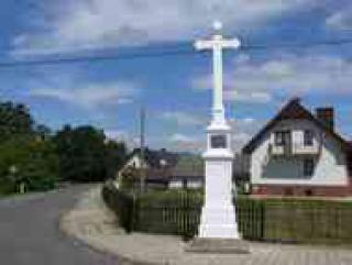 krzyż w Ligocie Prószkowskiej