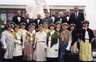Podczas przesłuchania chórów w Gogolinie
