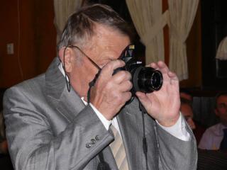Rudolf Zmarzły - nasz fotograf i dziennikarz lokalny