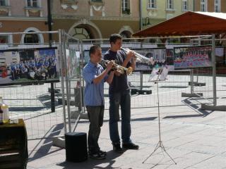 Piotr Mros i Dawid Woźnica