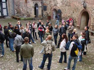 Na zamku Falkenstein