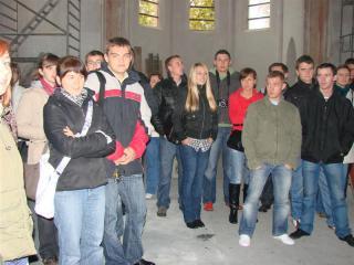 Spotkanie z Towarzystwem d.s. Kształcenia, Kwalifikacji i Zatrudnienia. Projekt remont kościoła ewangelickiego.
