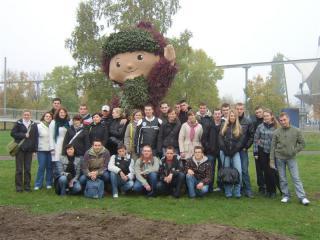 Elbauenpark w Magdeburgu