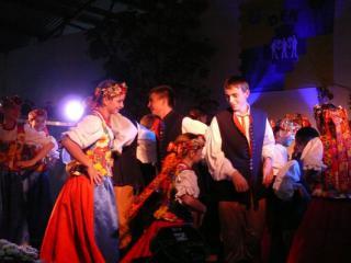 Zespół taneczny z Opolszczyzny Wal-Nak